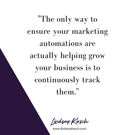 Marketing automation measures